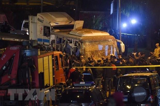Numerosos paises condenan el atentado con bomba en Egipto hinh anh 1