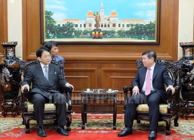 Impulsan cooperacion entre Ciudad Ho Chi Minh y prefectura japonesa de Aichi hinh anh 1