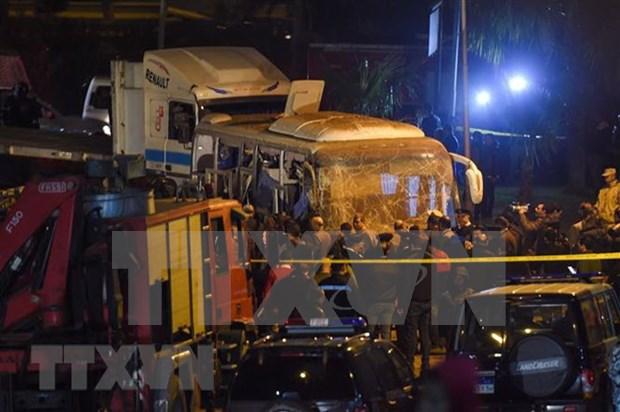 Tres vietnamitas mueren en un ataque contra un autobus en Egipto hinh anh 1
