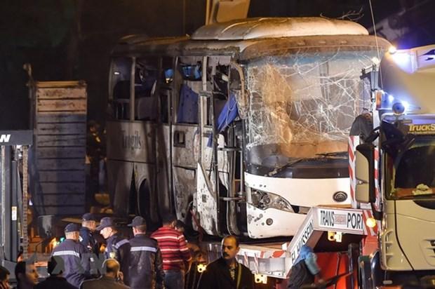 Rechazan atentado en Egipto con tres victimas fatales de ciudadania vietnamita hinh anh 1