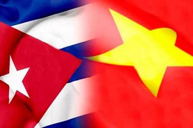 Lideres vietnamitas envian felicitaciones a Cuba por el aniversario 60 del Dia de la Liberacion hinh anh 1