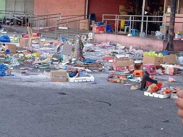 Explosion cerca de centro comercial filipino mata a dos personas hinh anh 1