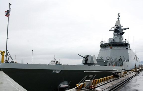 Fragata de la Real Armada Tailandesa visita ciudad vietnamita de Da Nang hinh anh 1