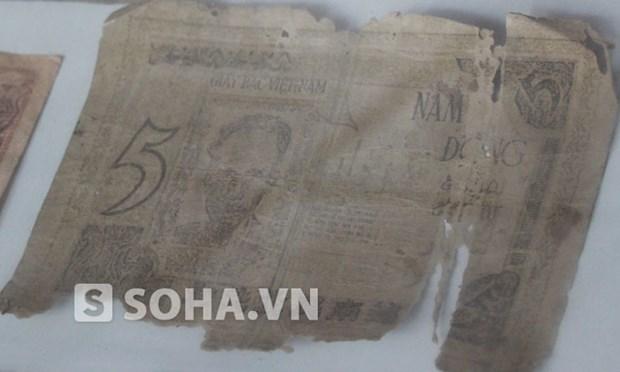 Molde de primeros billetes de Republica Democratica de Vietnam entre recien declarados tesoros nacionales hinh anh 1