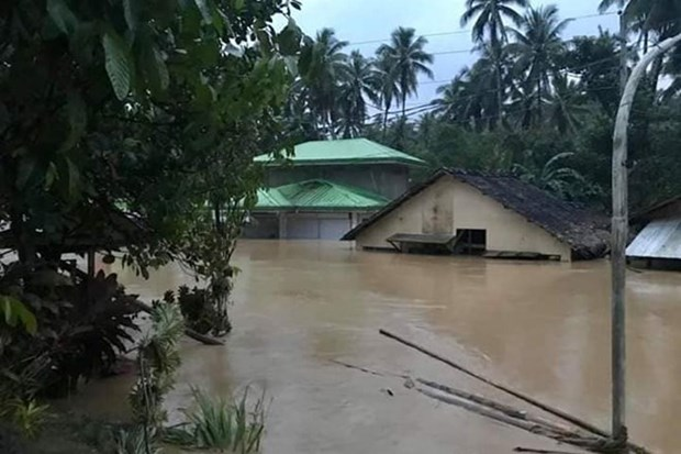 Asciende a 68 la cifra de muertos por el paso de la tormenta Usman en Filipinas hinh anh 1