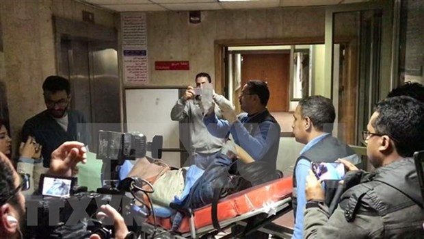 Victimas en ataque con bomba en Egipto volveran pronto a casa, afirma Embajada vietnamita hinh anh 1