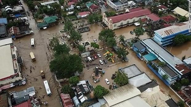Dirigentes vietnamitas expresan condolencias por tormenta Usman en Filipinas hinh anh 1