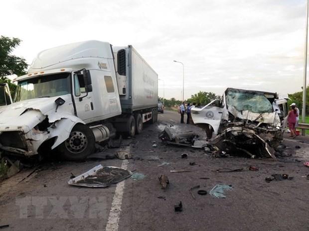 Registran 110 fallecidos en accidentes de transito durante asueto por Ano Nuevo en Vietnam hinh anh 1