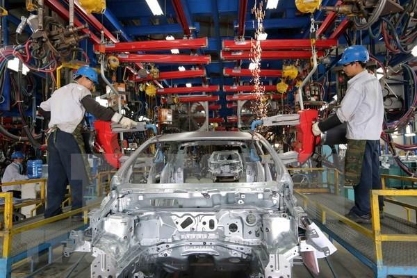 Industria manufacturera y procesadora contribuye a crecimiento economico de Vietnam hinh anh 1