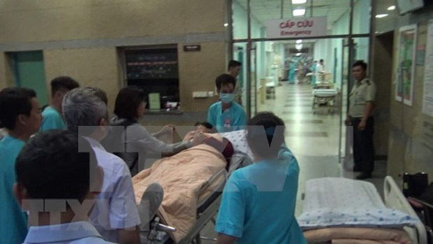 Repatriados turistas vietnamitas en Egipto tras atentado con bomba hinh anh 1