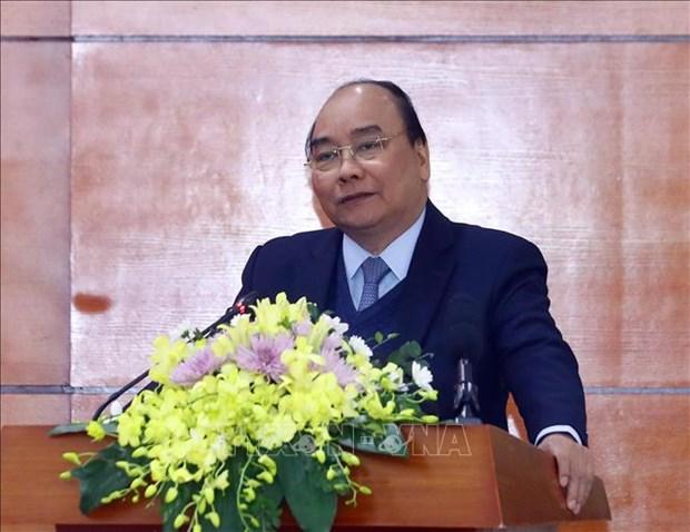 Premier vietnamita exhorta mayores esfuerzos para colocar agricultura nacional en el top 15 mundial hinh anh 1