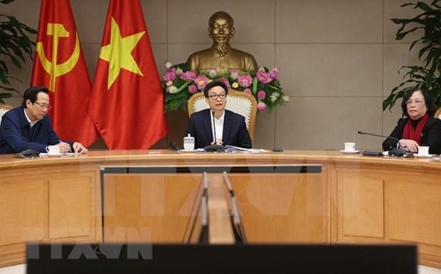 Vicepremier vietnamita urge a promover el papel de personas mayores hinh anh 1