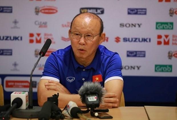 Entrenador Park Hang-seo adelanta meta de la seleccion de Vietnam en Copa Asiatica hinh anh 1