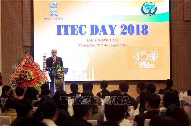 """Celebrado Dia de """"Cooperacion tecnica y economica india (ITEC)"""" en ciudad vietnamita de Hai Phong hinh anh 1"""