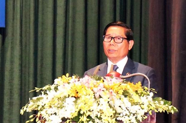 Celebran en ciudad vietnamita 40 anos de la defensa de la frontera del suroeste hinh anh 1