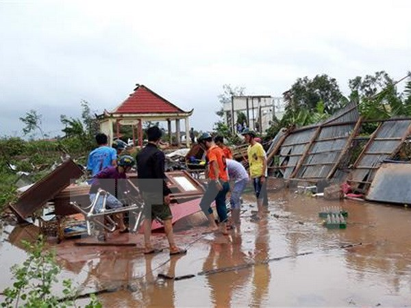 Huracan Pabuk provoca un muerto en Vietnam hinh anh 1