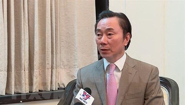 Rey de Butan aprecia esfuerzos vietnamitas para preservar valores tradicionales hinh anh 1