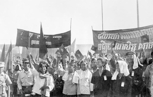 Partido Comunista de Vietnam felicita a Camboya por aniversario 40 de victoria sobre regimen genocida hinh anh 1
