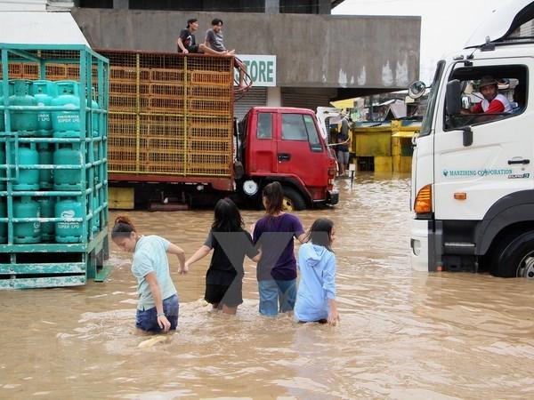 Eleva a 126 numero de fallecidos por deslizamientos de tierra en Filipinas hinh anh 1