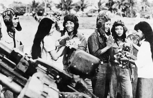 Ciudad Ho Chi Minh conmemora 40 anos de victoria contra regimen genocida en Camboya hinh anh 1