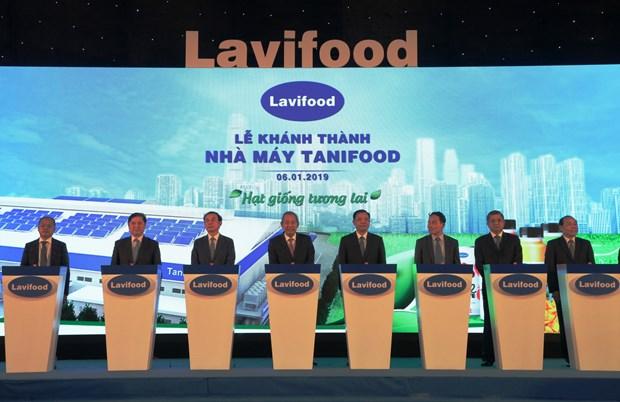 Inauguran mayor planta de procesamiento de frutas y hortalizas en Vietnam hinh anh 1