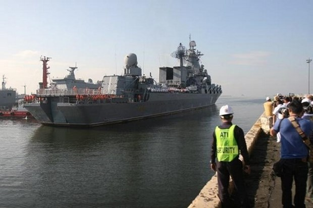 Buques de Rusia visitan Filipinas hinh anh 1