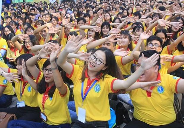 Mas de 30 mil jovenes participan en Campana de Primavera Voluntaria 2019 hinh anh 1