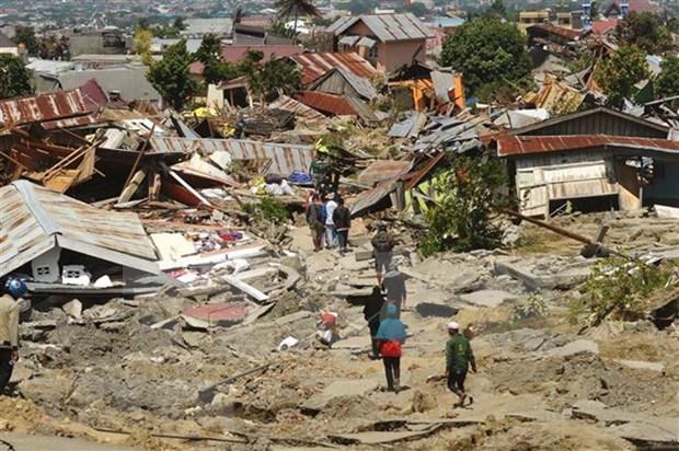 Terremoto de 6.6 grados ocurrio en Indonesia hinh anh 1