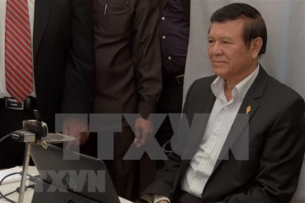 Rechazada la peticion del exlider opositor de Camboya para retirar cargos de traicion hinh anh 1