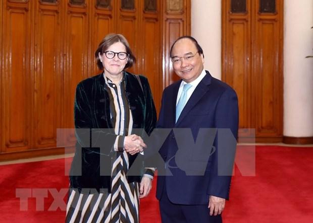 UE es socio de primera categoria de Vietnam, afirma el premier Xuan Phuc hinh anh 1