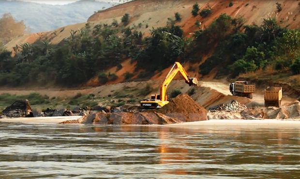 Vietnam busca minimizar impactos de proyecto hidroelectrico laosiano en rio Mekong hinh anh 1
