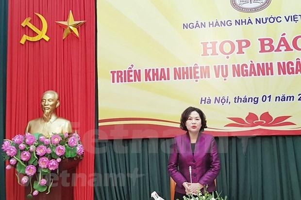 Vietnam mantendra crecimiento crediticio en 14 por ciento en 2019 hinh anh 1