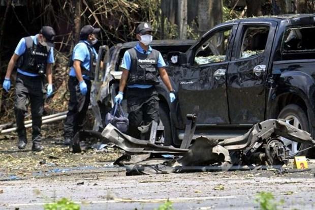 Ataque de bomba en sur de Tailandia provoca dos heridos hinh anh 1