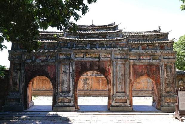 Finalizan restauracion del Palacio de Phung Tien en antigua ciudad vietnamita de Hue hinh anh 1