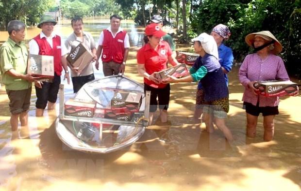 Cruz Roja de Vietnam lanza programa de asistencia a victimas de agente naranja hinh anh 1