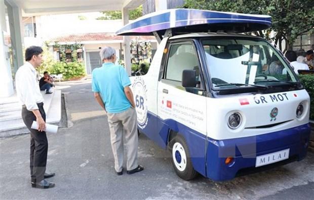 Vietnam y Japon cooperan en conversion de residuos organicos en energia renovable hinh anh 1