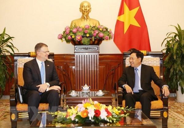 Resaltan papel de la diplomacia en fomento de lazos Vietnam- Estados Unidos hinh anh 1