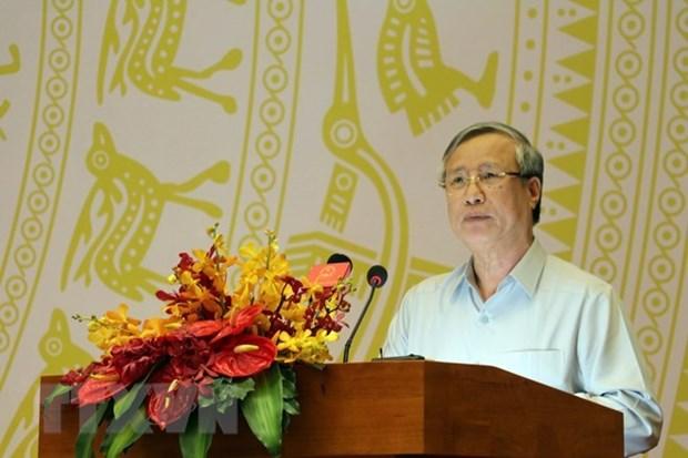 Exhorta al Frente de Patria de Vietnam a impulsar su papel en movilizacion de masas hinh anh 1