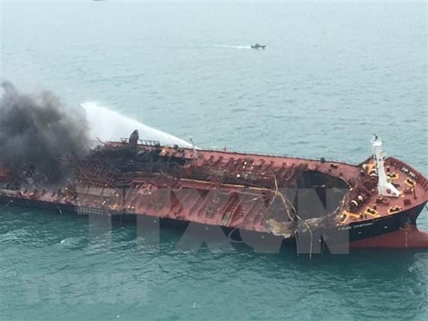 Aceleran busqueda de marineros vietnamitas desaparecidos en accidente en Hong Kong hinh anh 1
