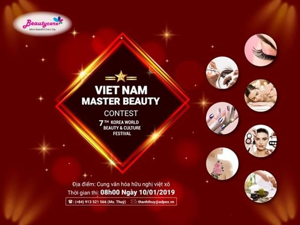 Abren exposicion internacional de productos y servicios de belleza en Hanoi hinh anh 1