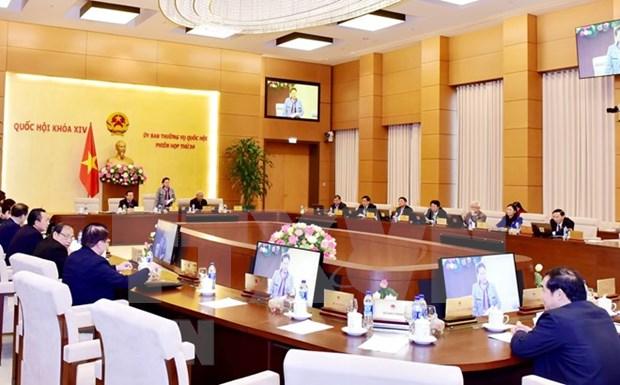 Comite Permanente del Parlamento vietnamita cierra su 30 reunion hinh anh 1