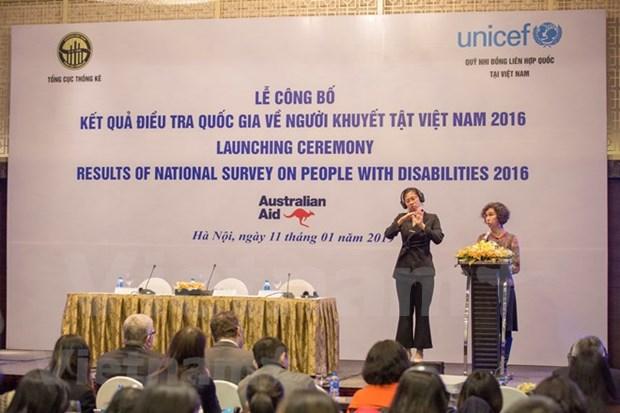 Personas con discapacidad representan siete por ciento de la poblacion en Vietnam hinh anh 1