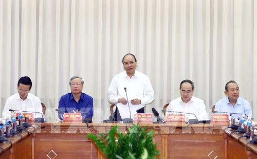 Ciudad Ho Chi Minh se mantiene como locomotora economica de Vietnam, afirma premier hinh anh 1