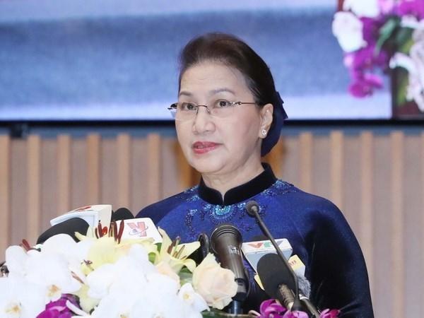 Presidenta parlamentaria vietnamita participara APPF – 27 hinh anh 1
