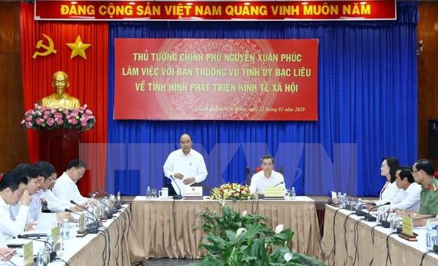 Premier vietnamita insta a provincia de Bac Lieu a priorizar proyectos de energia limpia hinh anh 1