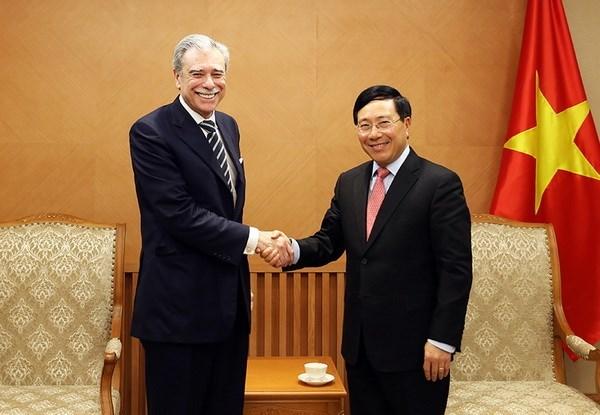 Vietnam considera importante asociacion integral con Estados Unidos, dice vicepremier hinh anh 1