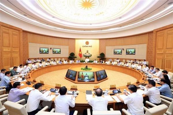 Gobierno vietnamita considera 2019 ano crucial para cumplimiento del plan quinquenal hinh anh 1