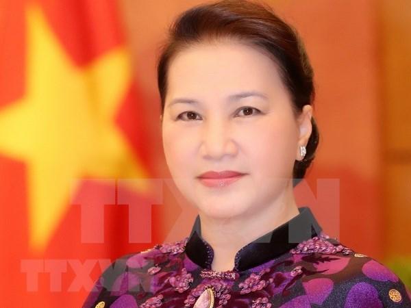 Presidenta del Parlamento vietnamita viaja a Camboya para asistir a APPF – 27 hinh anh 1