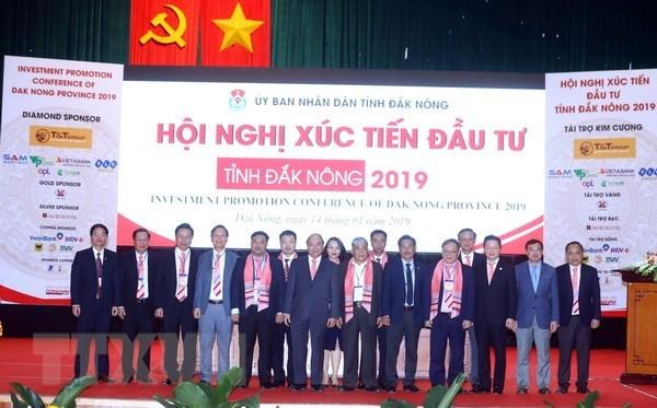 Premier insta a provincia de Dak Nong a aprovechar potencial de la agricultura hinh anh 1