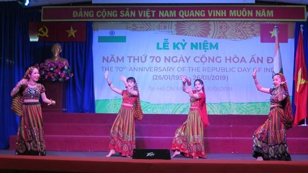 Celebran en Ciudad Ho Chi Minh el Dia de la Republica de la India hinh anh 1